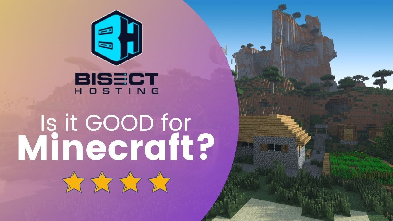 Bisecthosting Review best vps minecraft server hosting