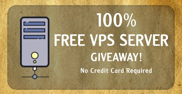 free vps hosting giveaway