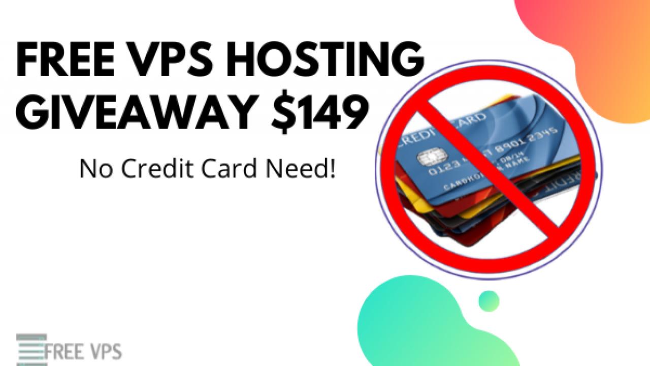 free vps server no credit card