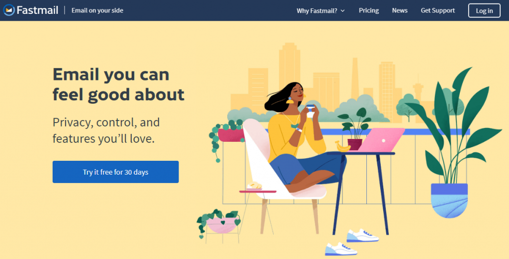 fastmail review, fastmail hosting