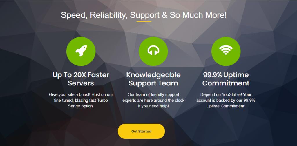 Youstable dedicated server hosting