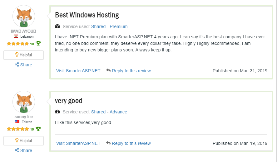 smarterasp review 2019, why choose smarterasp.net