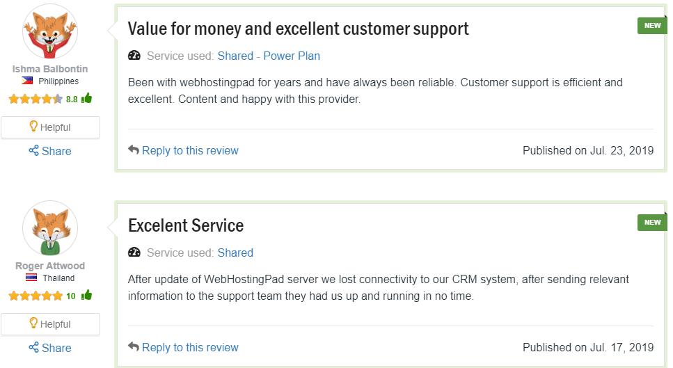 webhostingpad support