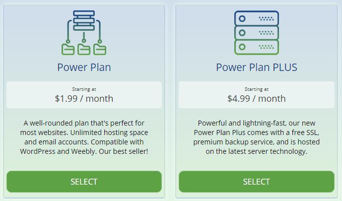 webhostingpad plans