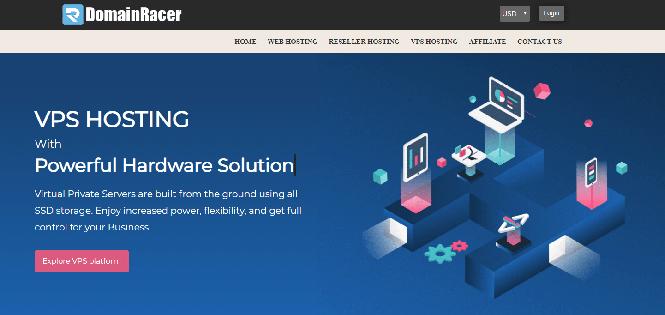 domainracer vps hosting