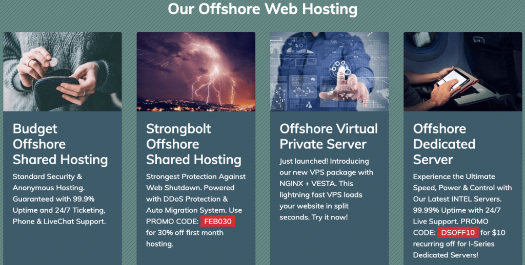 Cheap Offshore Hosting