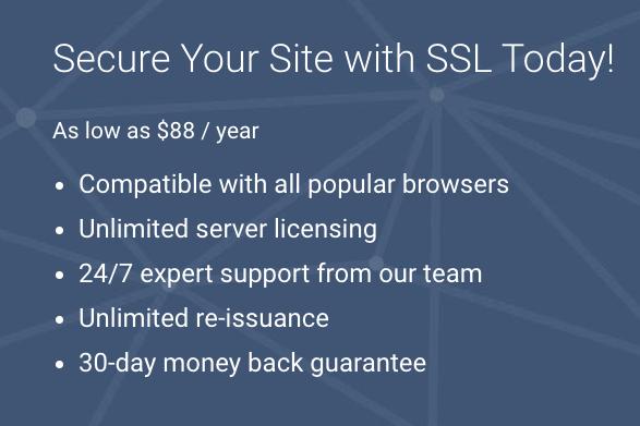 Comodo Group SSL Certificate