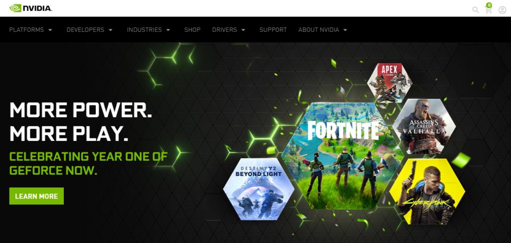 Nvidia Gaming Affiliate Program