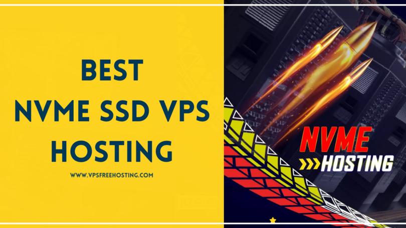 NVMe SSD VPS Hosting