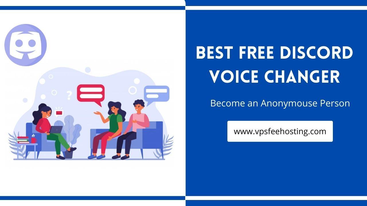 best free discord Voice changer