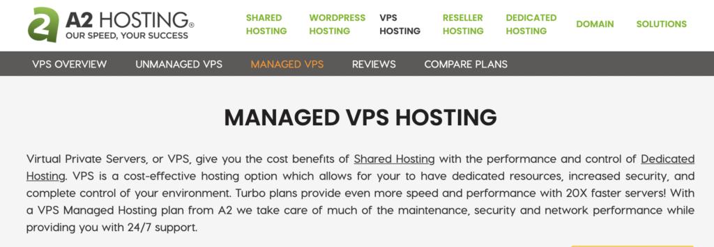 A2hosting nvme Vps Hosting