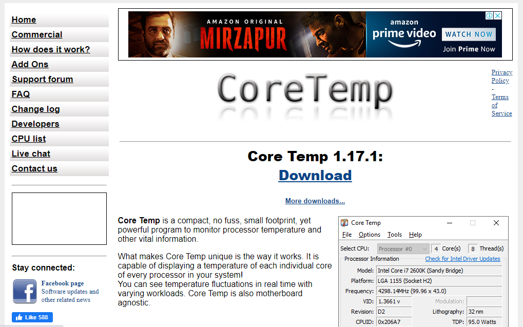 Best CPU Temperature Monitor: pc monitoring software