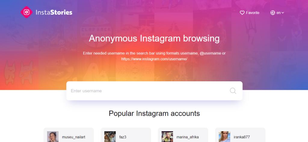 Best Instagram story viewer: Anonymous Instagram