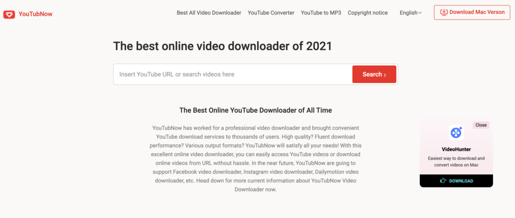 youtubnow free YouTube playlist downloaders