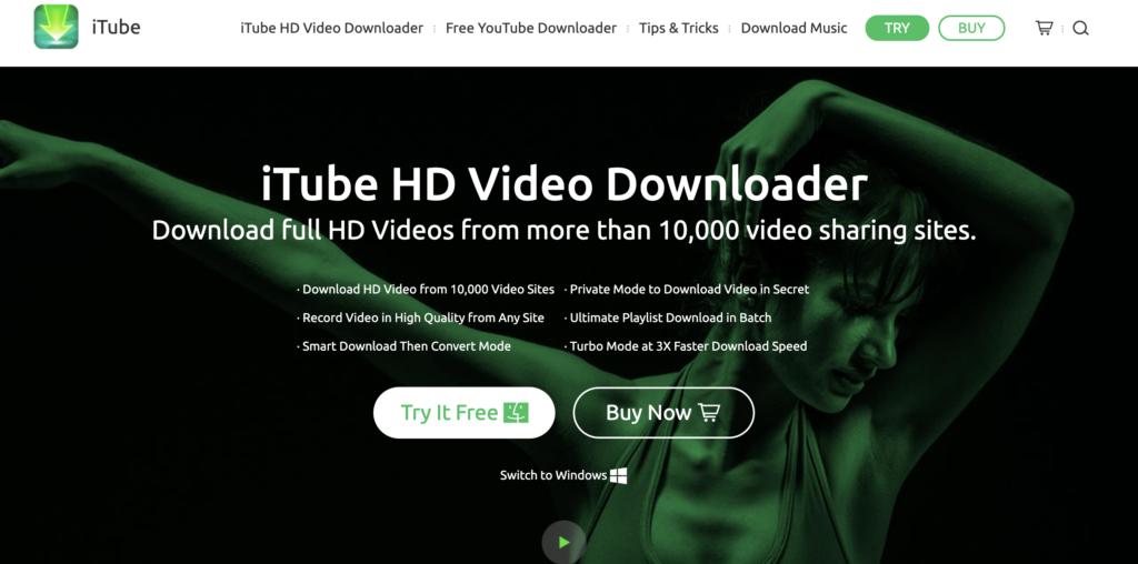 iTube HD Video Downloader free YouTube playlist downloader