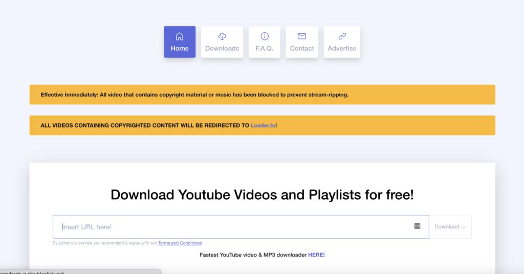 DDownr  free YouTube playlist downloaders