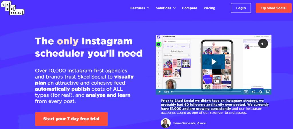 Best Free Instagram Scheduler Tools and apps 2021