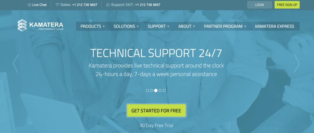 Kamatera Free VPS trial