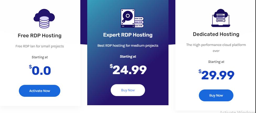 Free rdp server