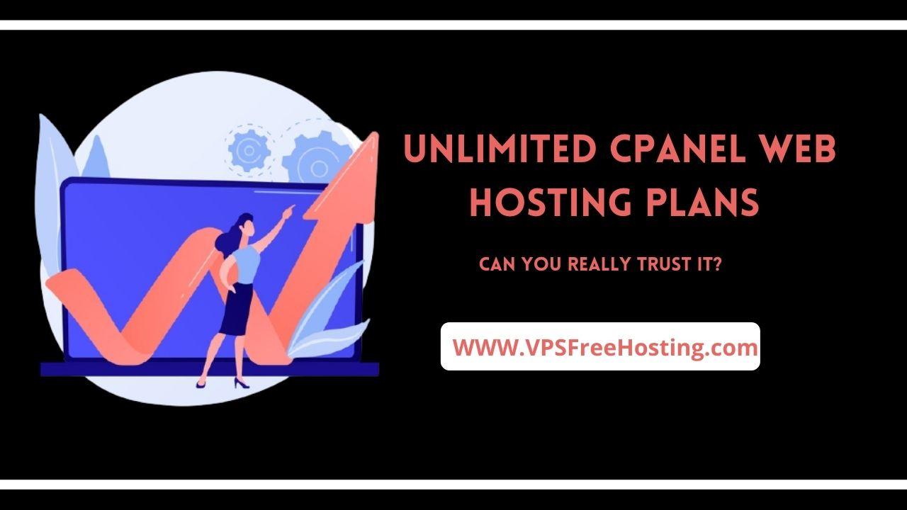 Unlimited cpanel Web Hosting plans