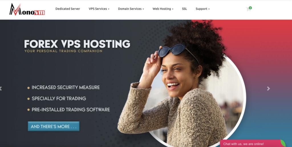 Monovm free RDP server windows