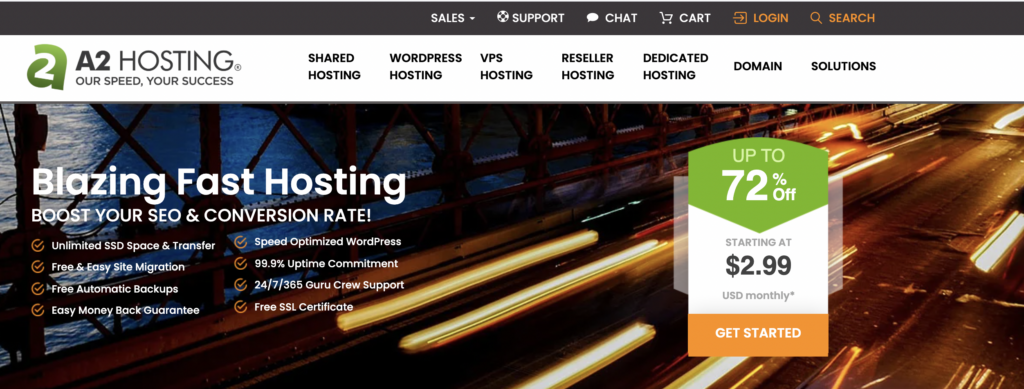 Unlimited cPanel web hosting