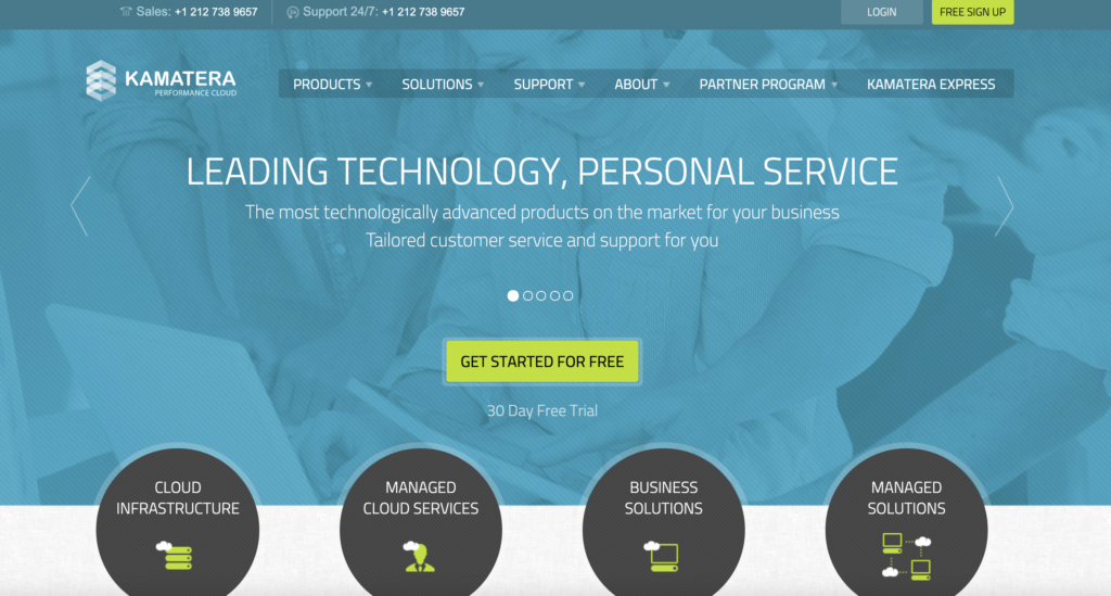 Kamatera Best web hosting affiliate program